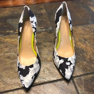 Banana Republic floral heels